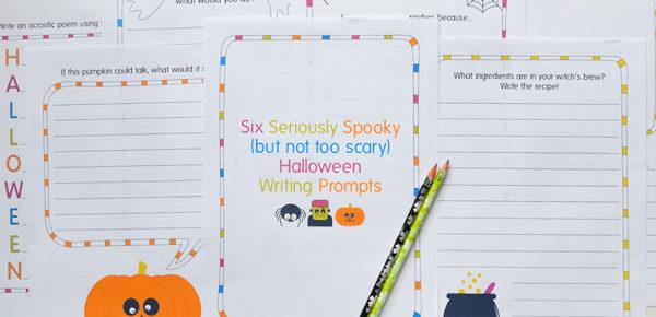 Free Printable Halloween writing prompts