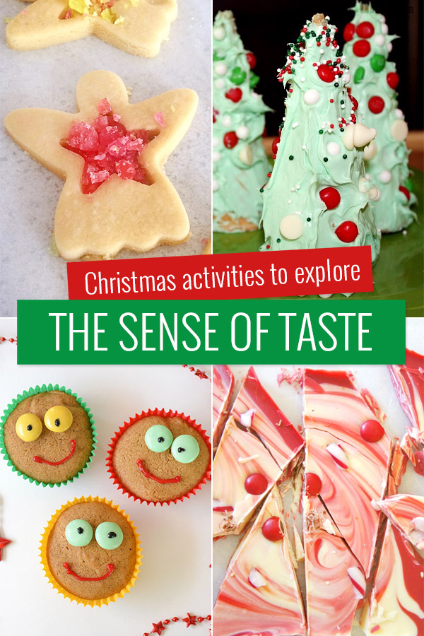 Christmas activities to explore the sense of taste