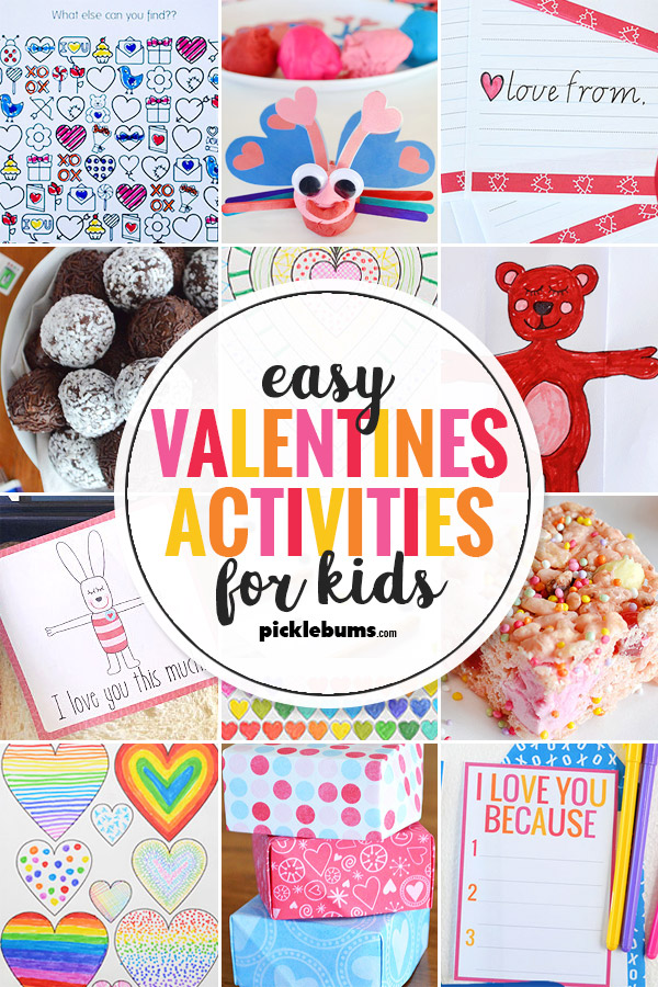 Easy and fun valentines activities for kids