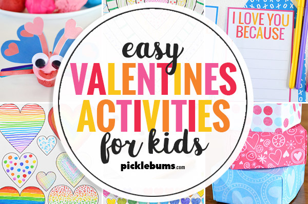 easy valentines day activities for kids
