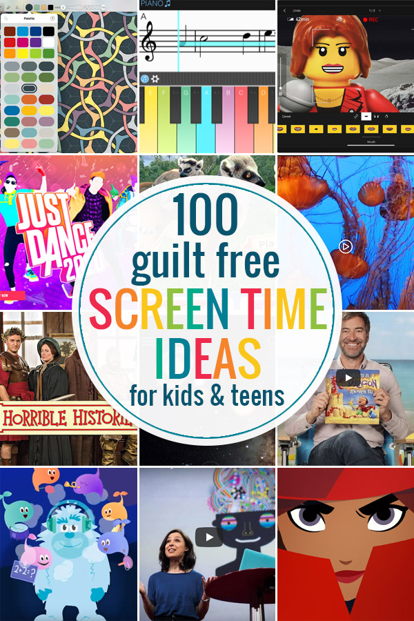 screen time ideas for kids