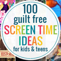 guilt free screen time ideas for kids and teens