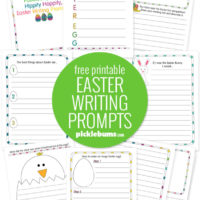 Free Printable Easter Writing Prompts for Kids