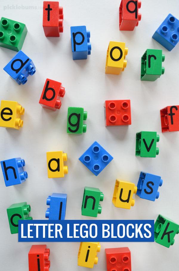 letter duplo blocks