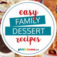 easy family desserts