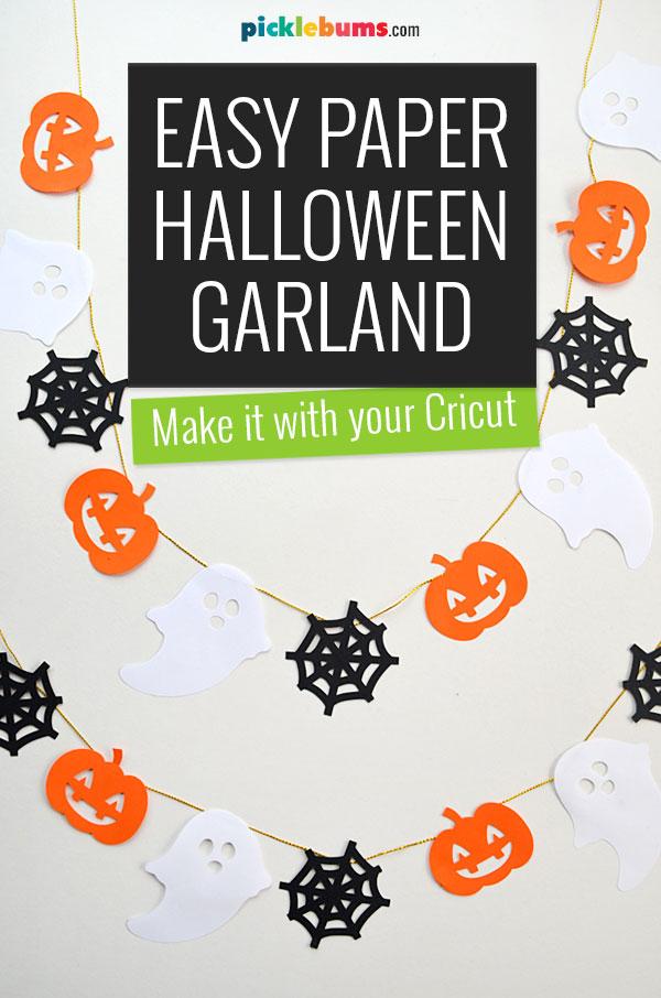 paper halloween garland