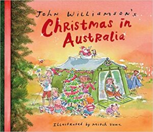 Book cover - Christmas in Australia
