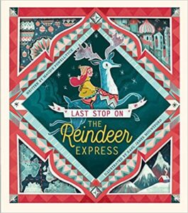 Book Cover - Last Stop in the Reindeer Express