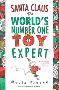 Book Cover - Santa Claus The World's Number 1 Toy Expert.