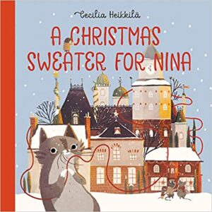 Book Cover - A Christmas Sweater for Nina