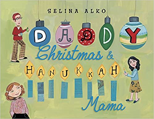 Book cover - Daddy Christmas and Hanukkah Mama