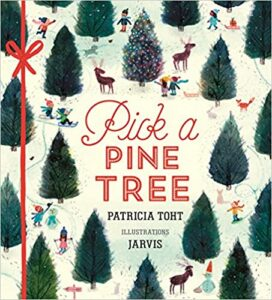 Book cover - Pick a Pine Tree