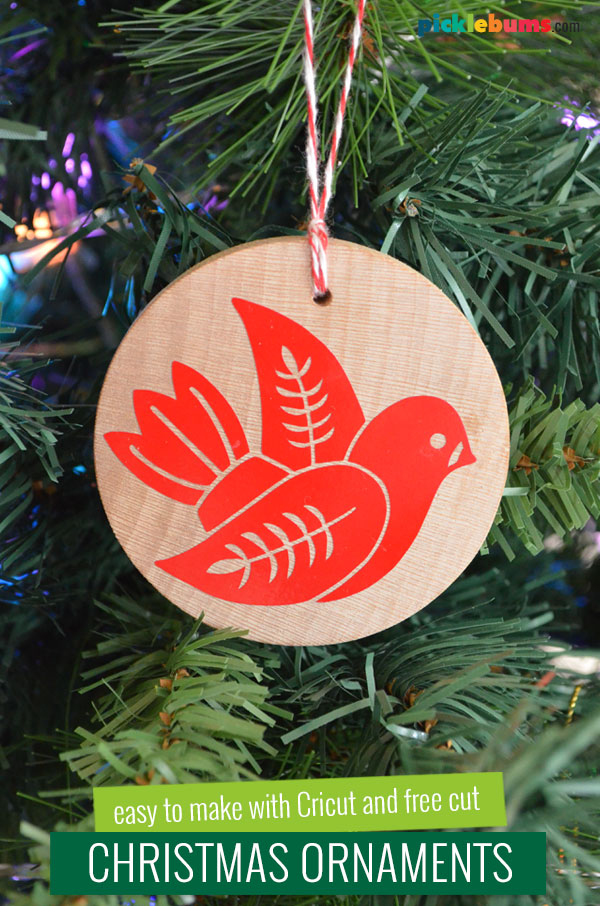 Christmas dove decoration