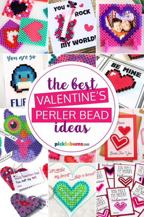 Valentines perler bead ideas