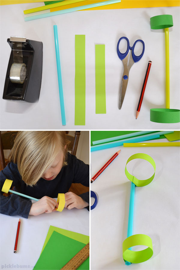 making a hoop glider