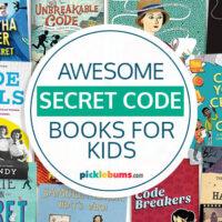secret code books for kids