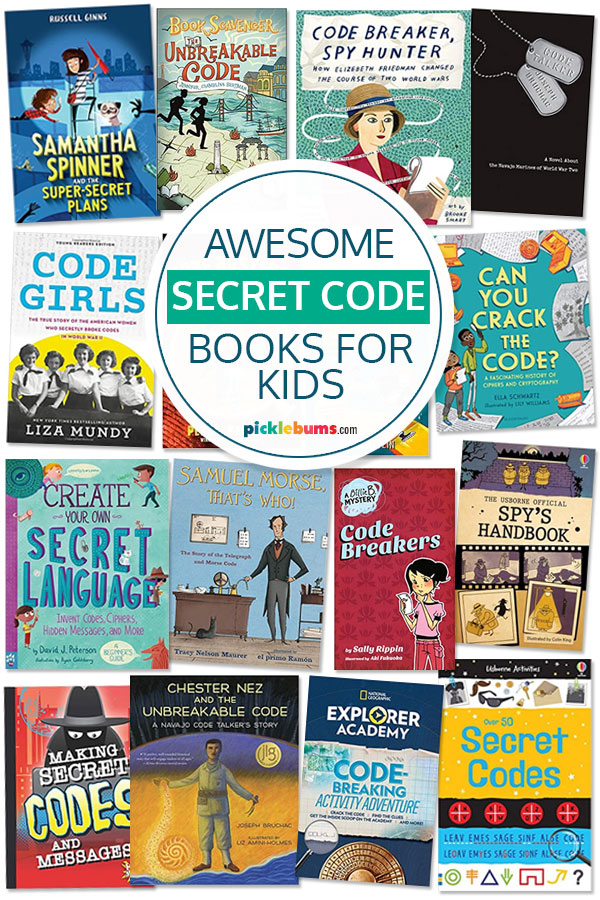 Awesome secret code books for kids