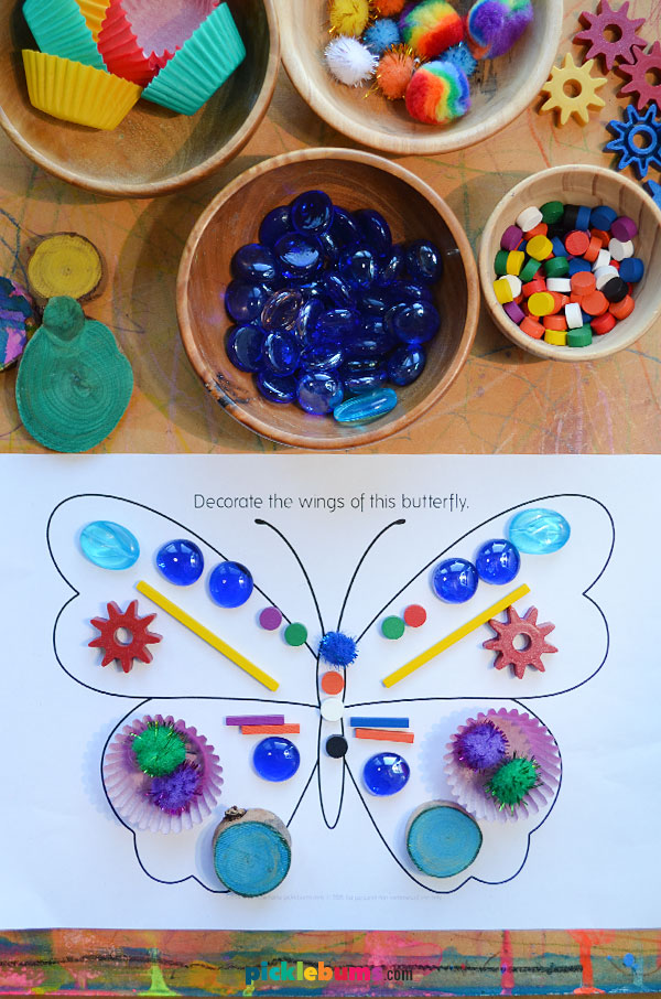 butterfly loose parts play