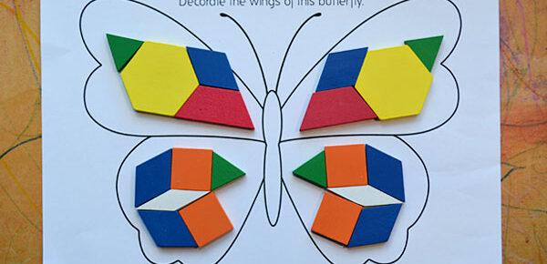 butterfly pattern blocks