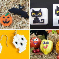Halloween themed perler ideas